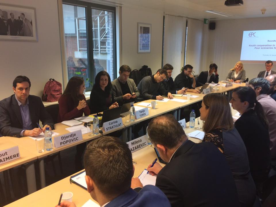 Four scenarios on youth cooperation in the Western Balkans presented in Brussels