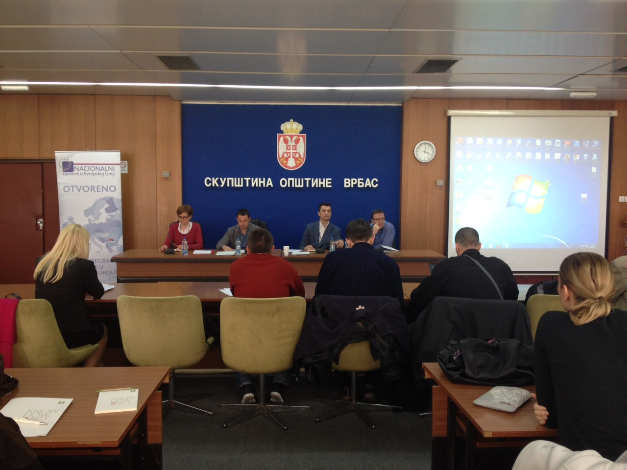 2nd session of the National Convention on the EU Working Group: Chapter 15 – Energy