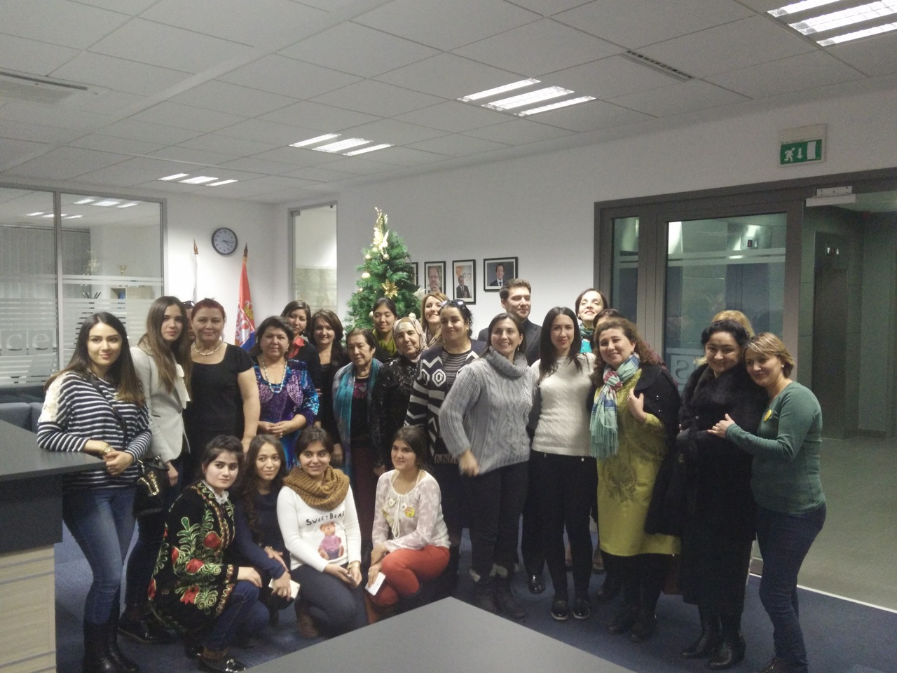 Presentation of Women Leadership Academy to women politicians and NGO activists from Tajikistan