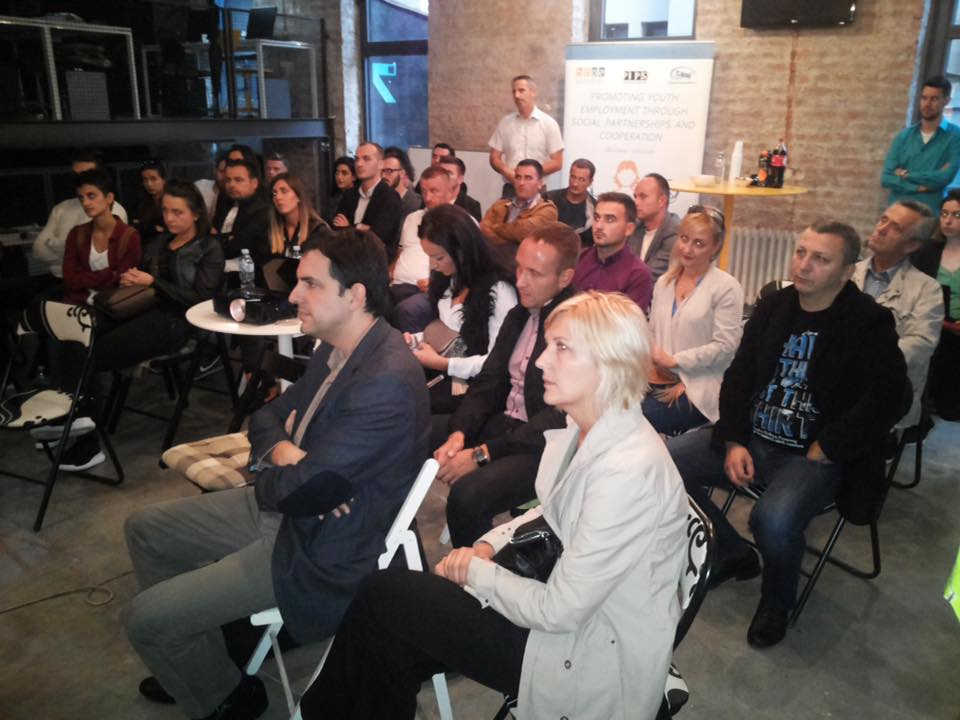 """In Niš, """"good stories"""" on starting business and employing young people of Serbia and Kosovo"""