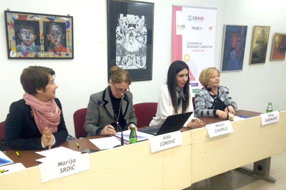 Fourth meeting between alumni of Women Leadership Academy and women rights' organizations