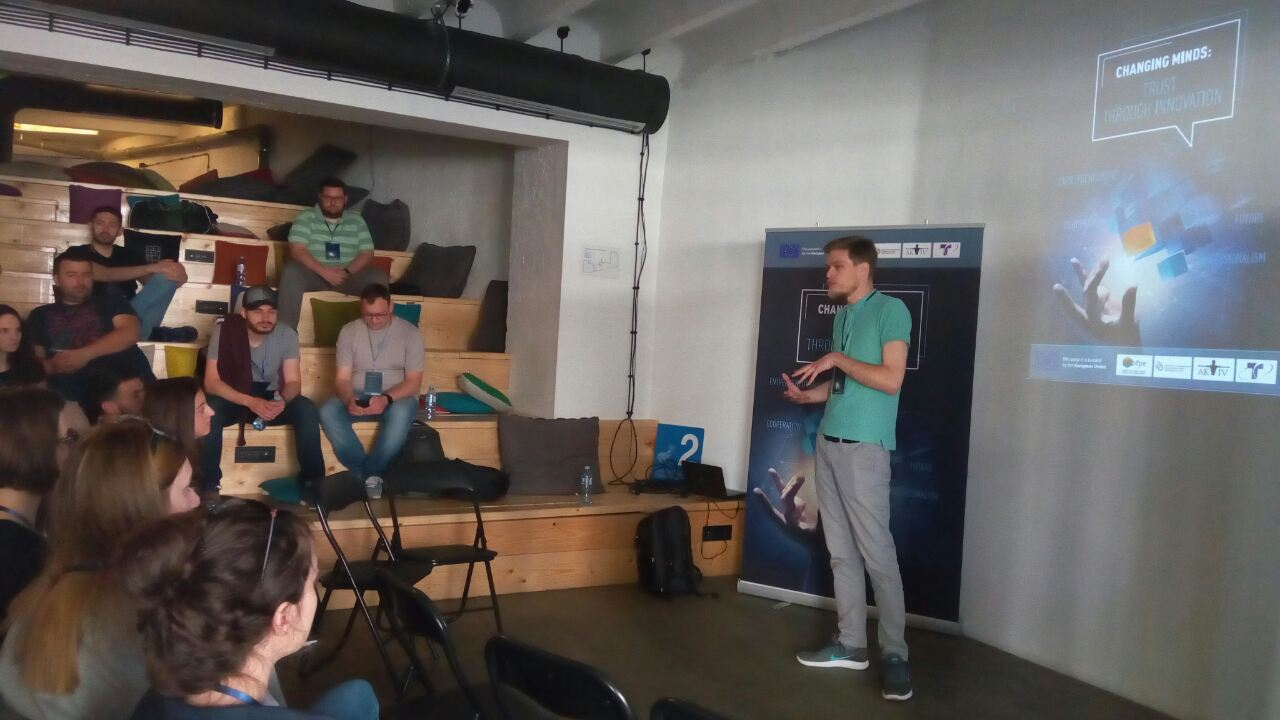 Hacking the future: initial activity of the 'Changing Minds' project
