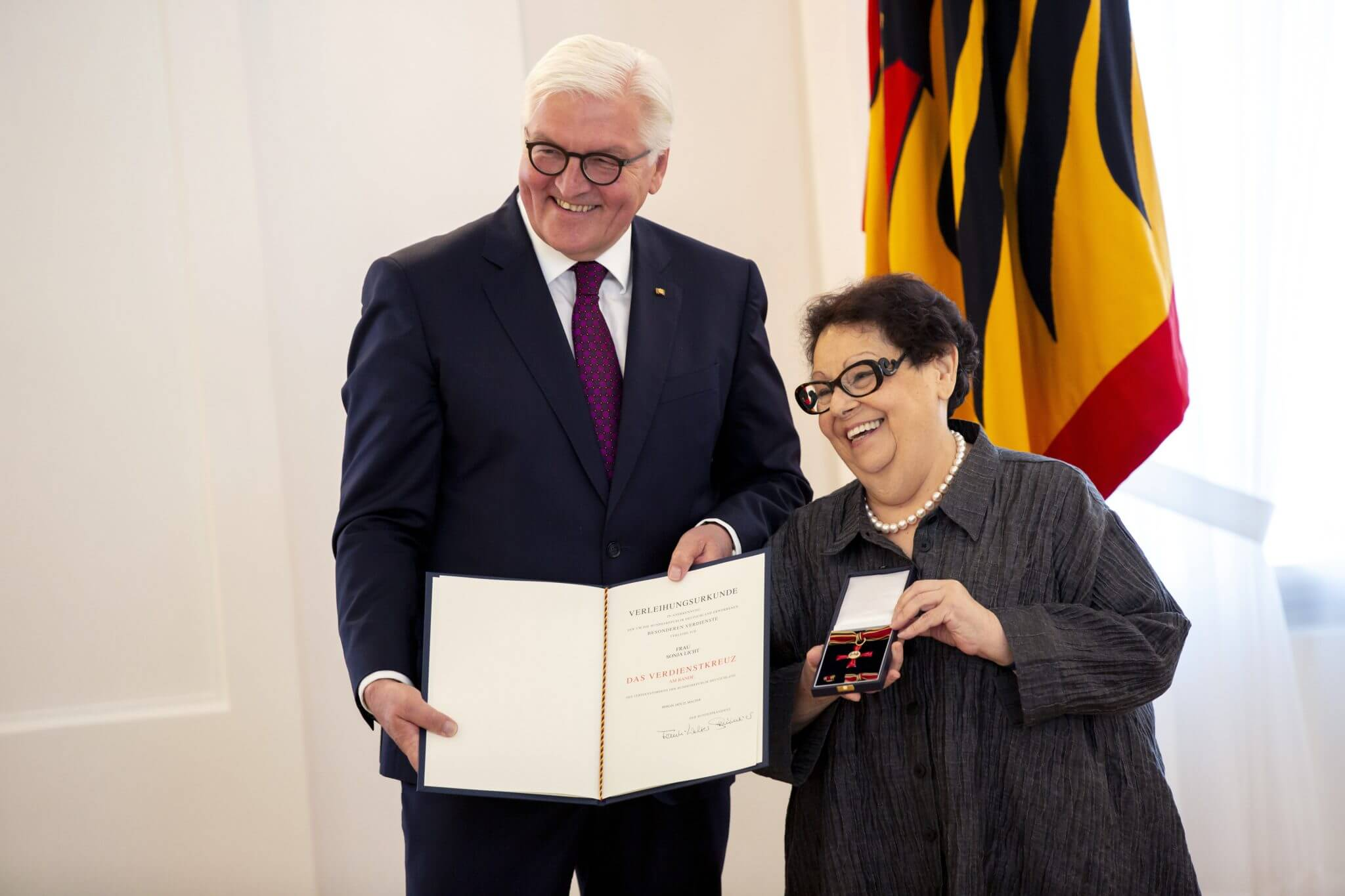 German Ambassador's reception for Sonja Licht