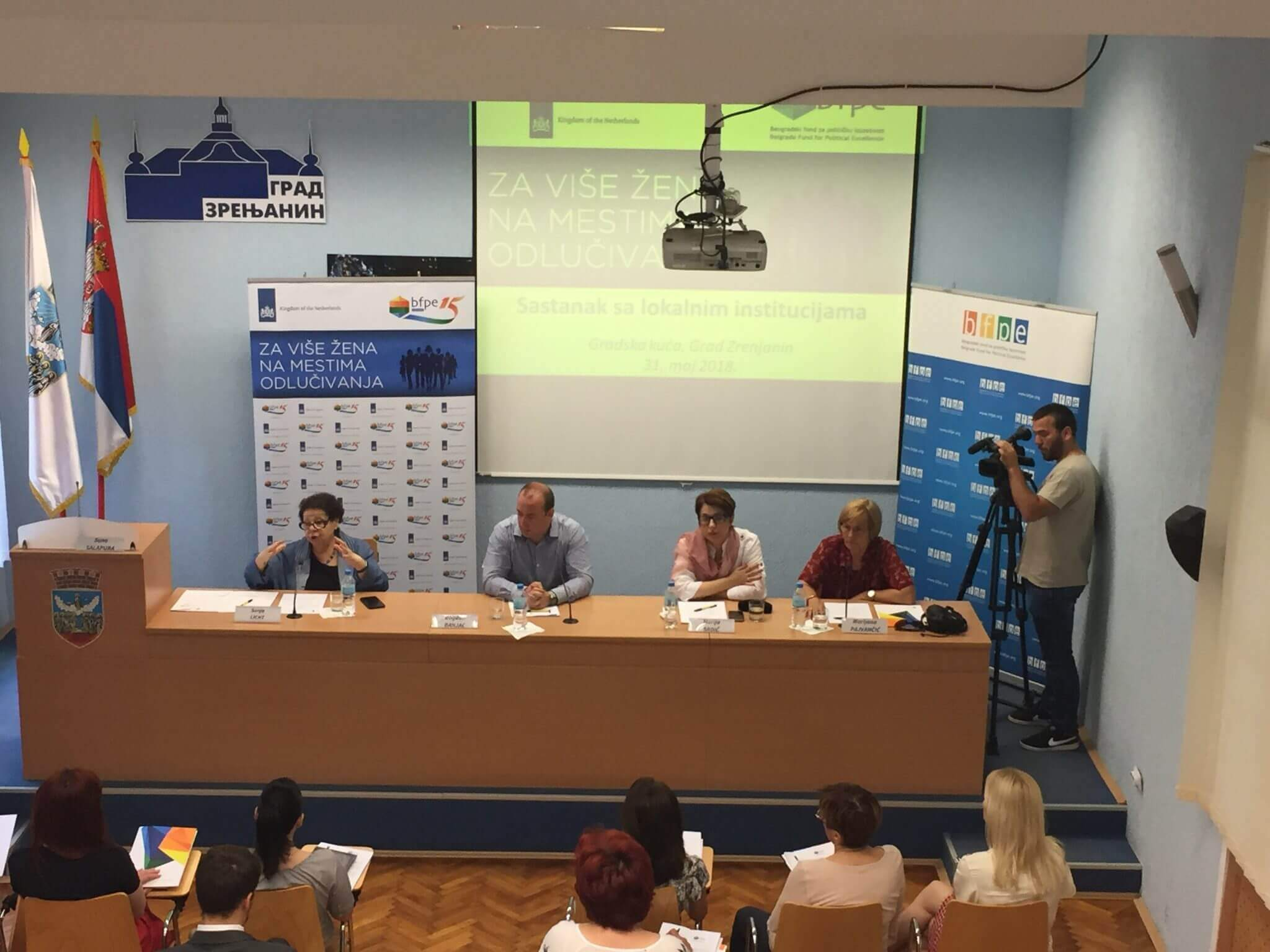 For more women in decision-making: two round tables organized in Zrenjanin