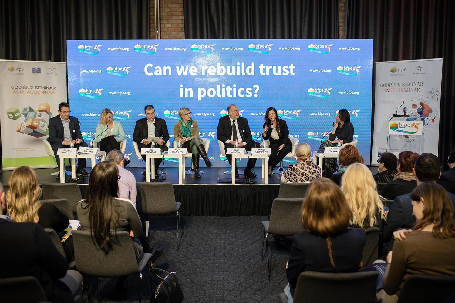 15 Years of Political Education in Serbia: Can we rebuild trust in politics?