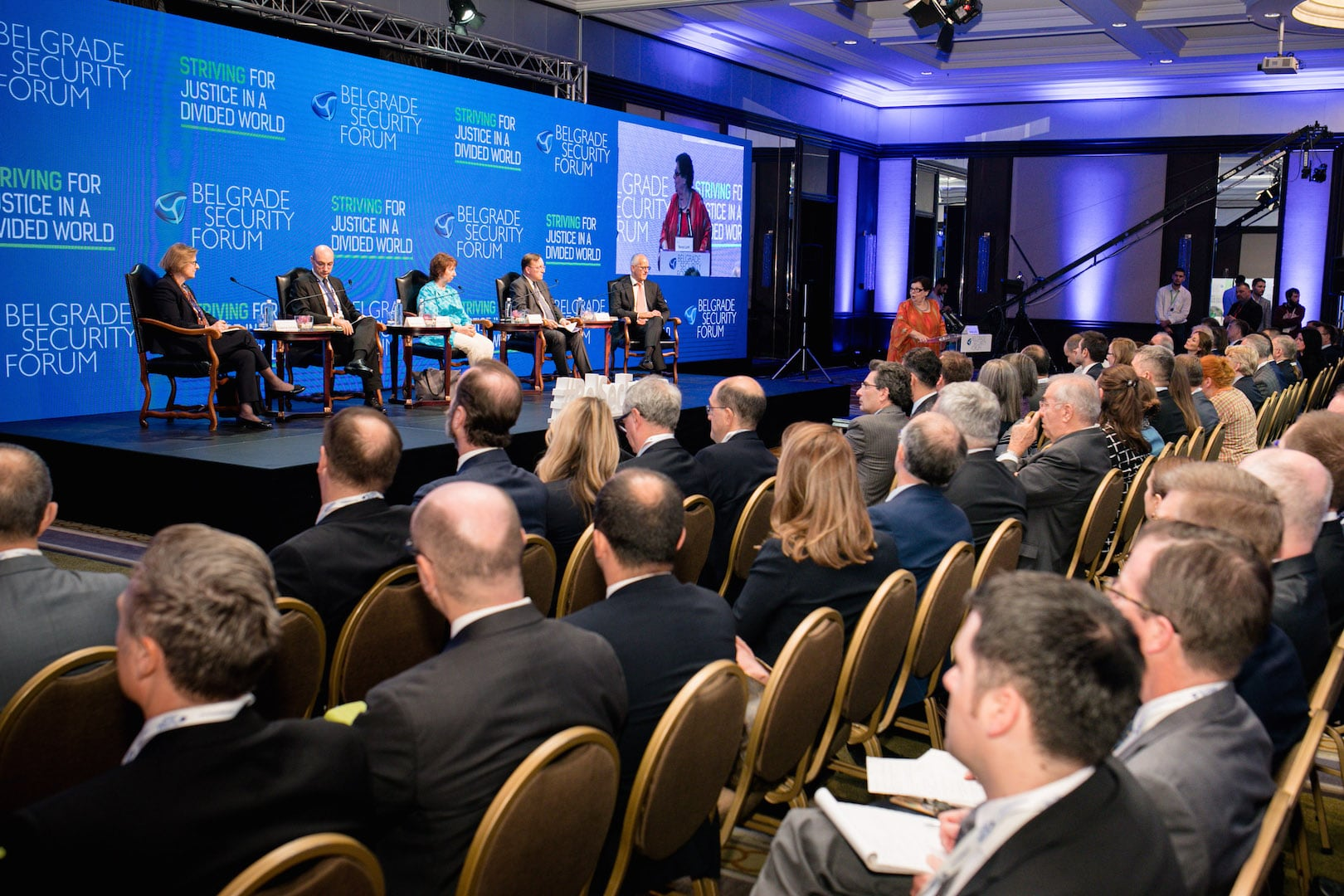 Ninth Belgrade Security Forum:  Striving for Justice in a Divided World