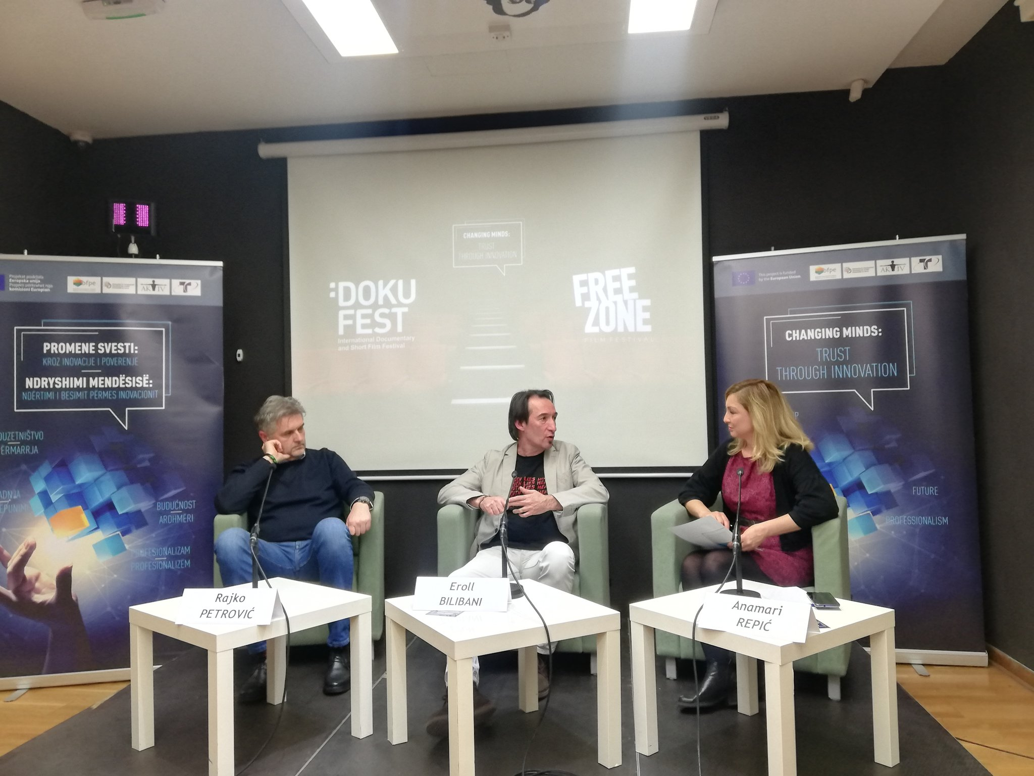 Rajko Petrovic and Eroll Bilibani: exceptional cooperation and achievements of film festivals from Serbia and Kosovo