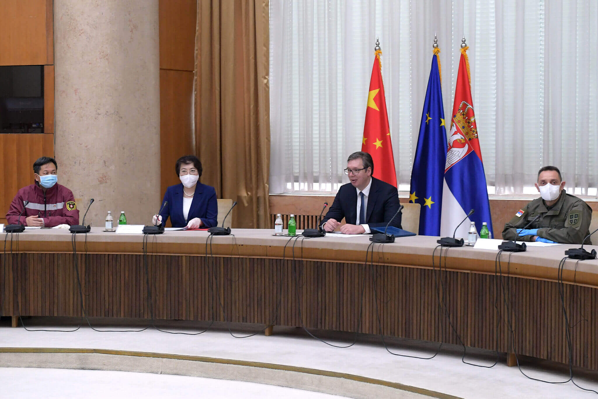 Serbia, the focal point of Chinese ''mask diplomacy'' in the Western Balkans