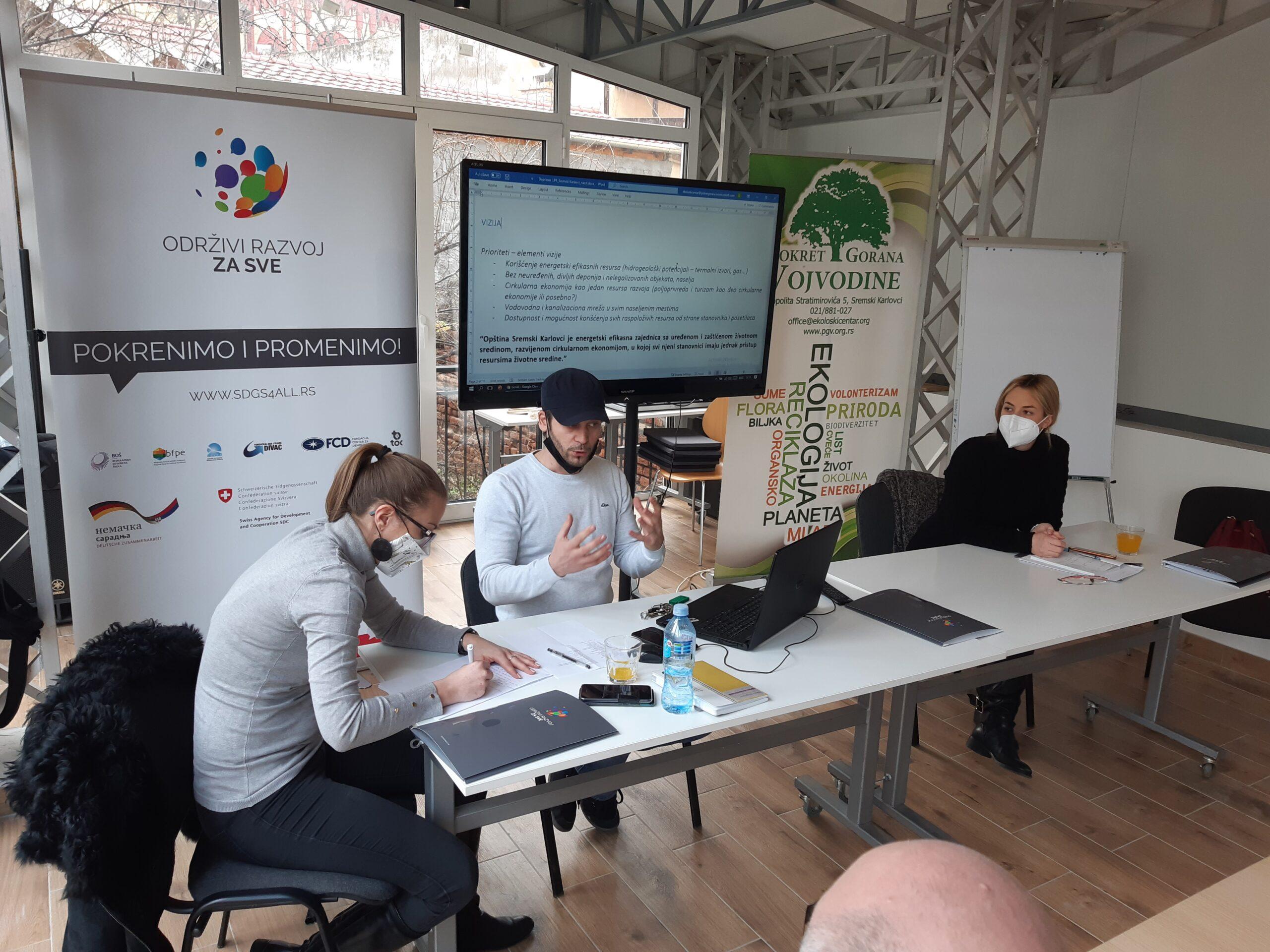Sremski Karlovci and Priboj: Towards New Development Plans and a Healthy Environment