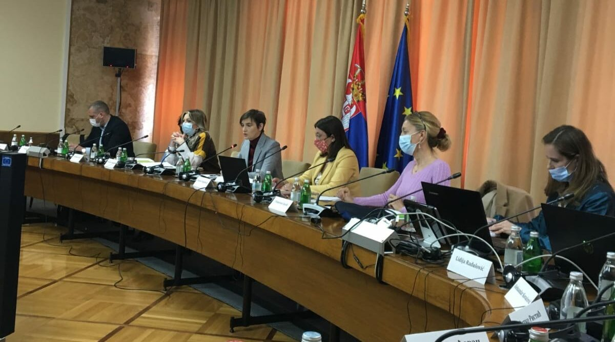 Dialogue with the Prime Minister on the future of the environment and energy in Serbia