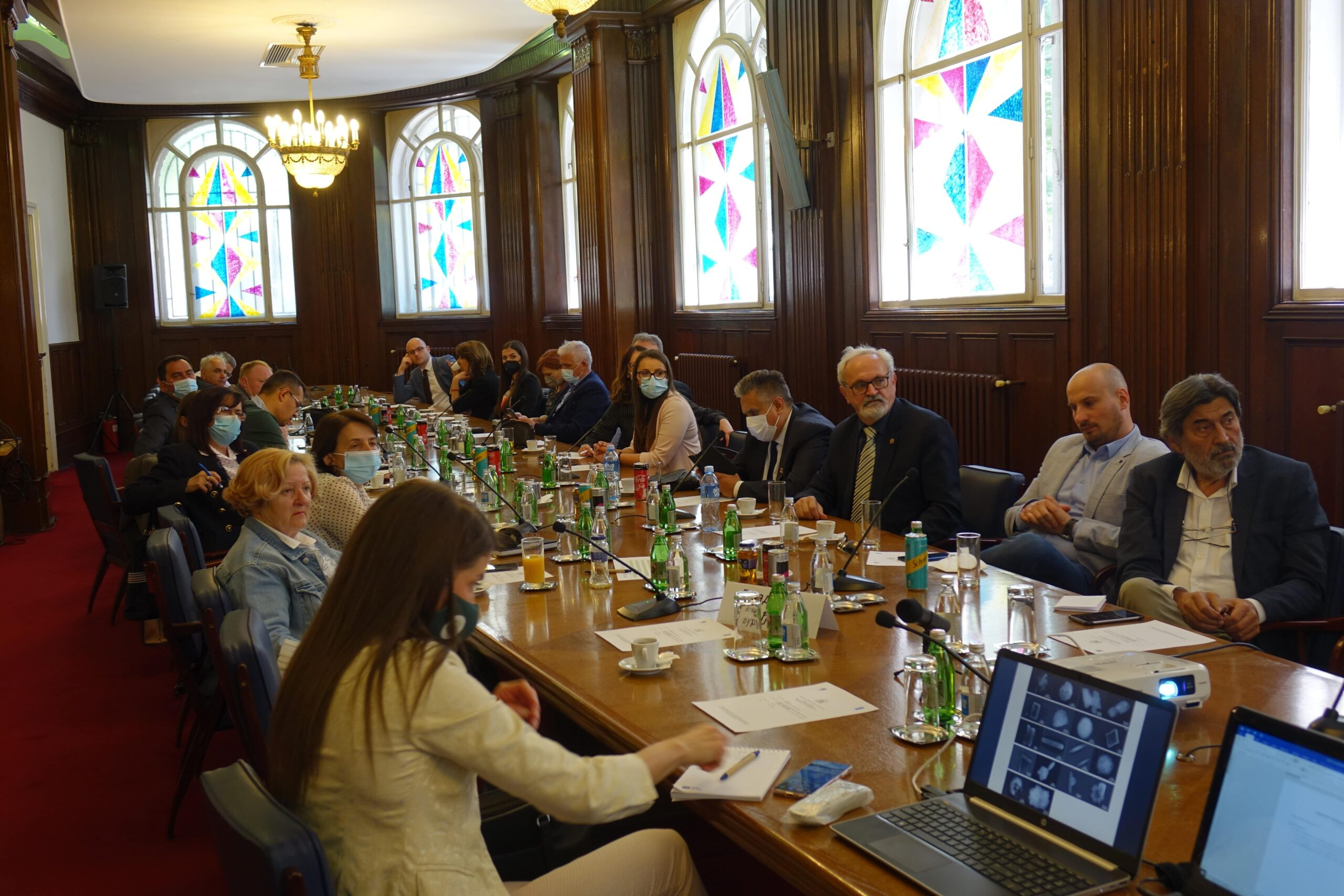 What is the role of MPs in improving air quality in Serbia
