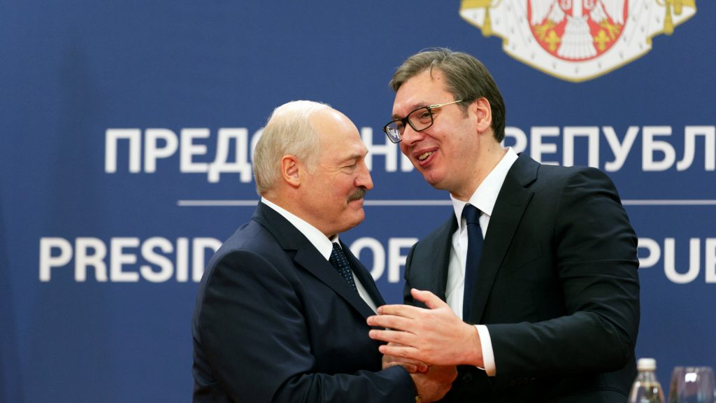 """Serbia, Belarus and """"principally unprincipled"""" foreign policy harmonization"""