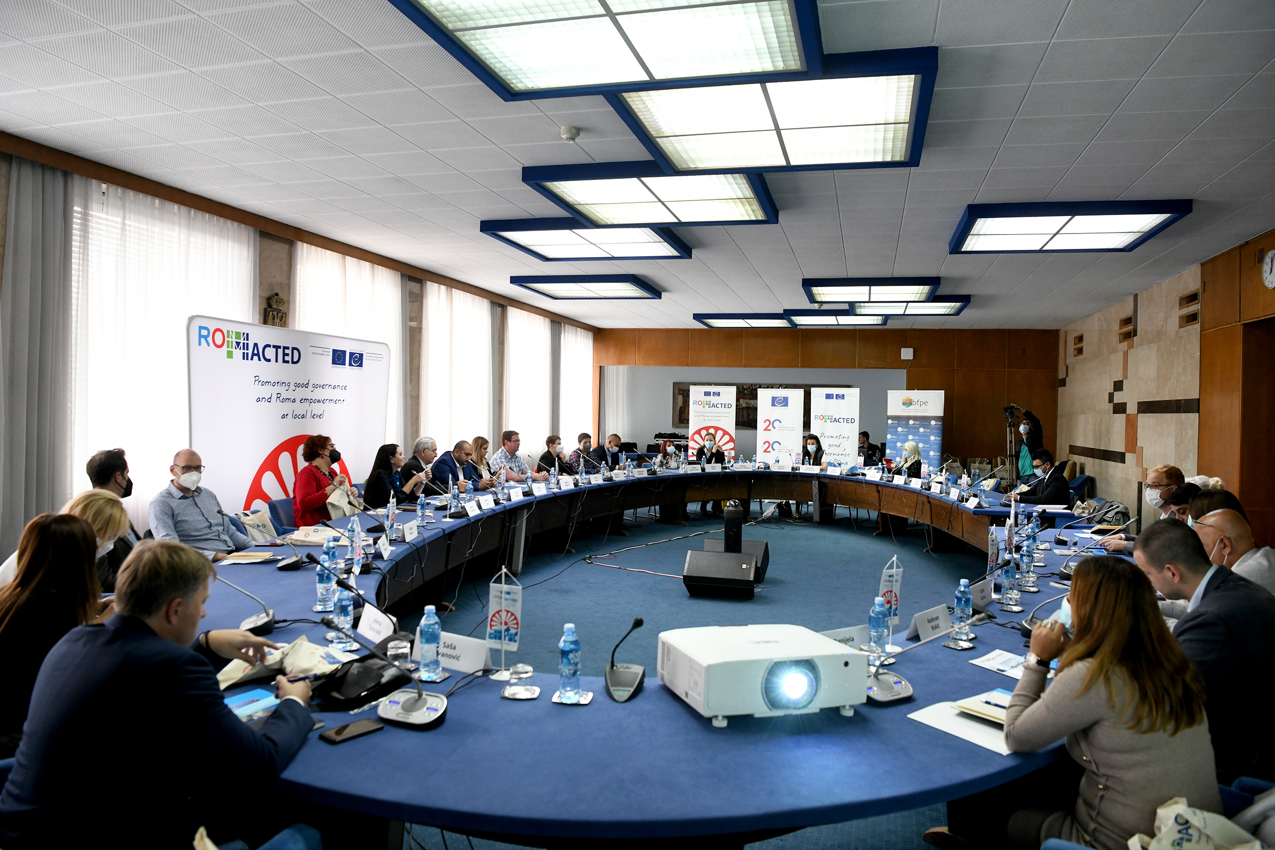 ROMACTED II launched with stakeholders in Serbia