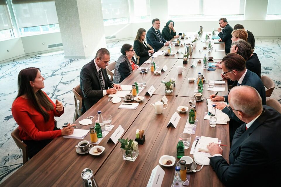 Merkel's visit confirmed the importance of civil the society in the region